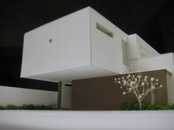 各務原の家模型2