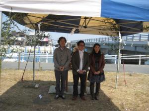 弁天島の家 地鎮祭01